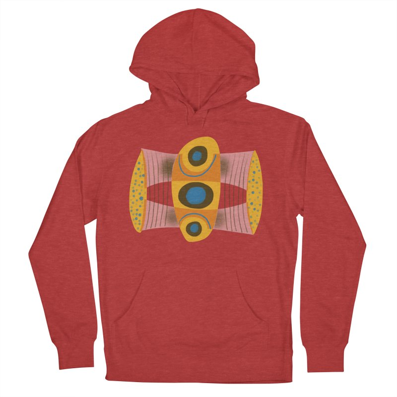 Bass Men's French Terry Pullover Hoody by Michael Pfleghaar