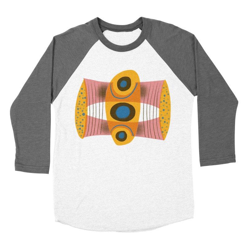 Bass Men's Baseball Triblend Longsleeve T-Shirt by Michael Pfleghaar
