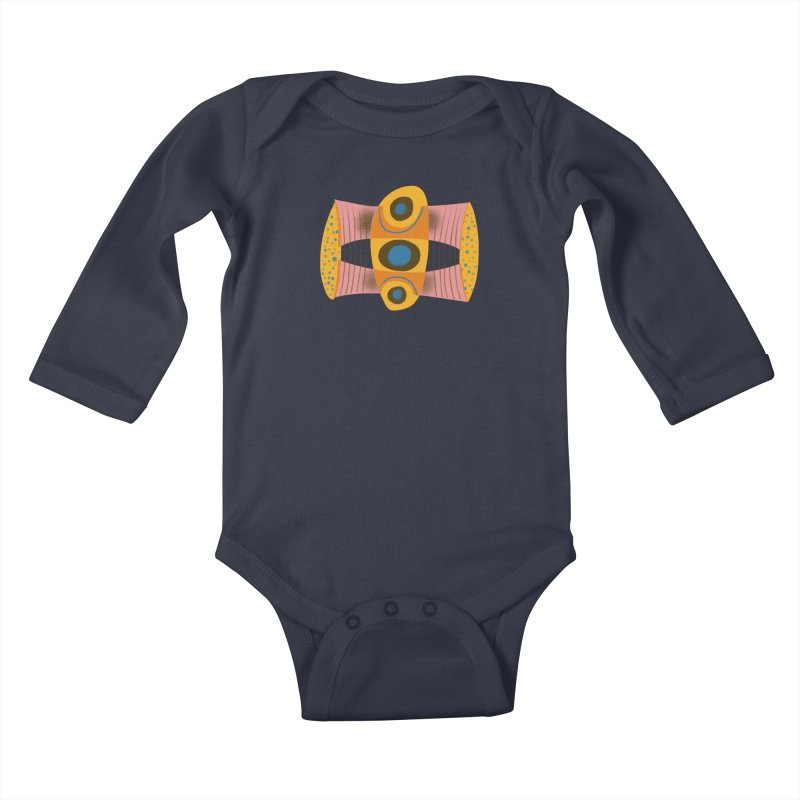 Bass Kids Baby Longsleeve Bodysuit by Michael Pfleghaar