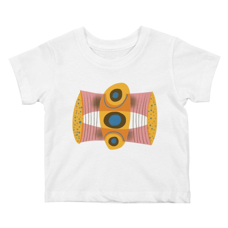 Bass Kids Baby T-Shirt by Michael Pfleghaar