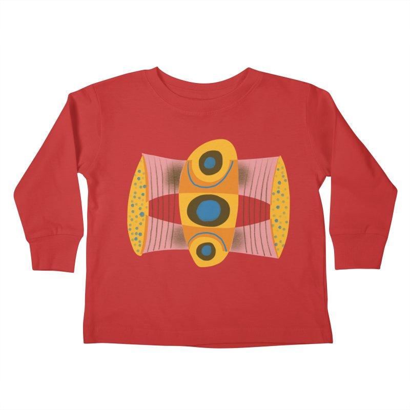 Bass Kids Toddler Longsleeve T-Shirt by Michael Pfleghaar