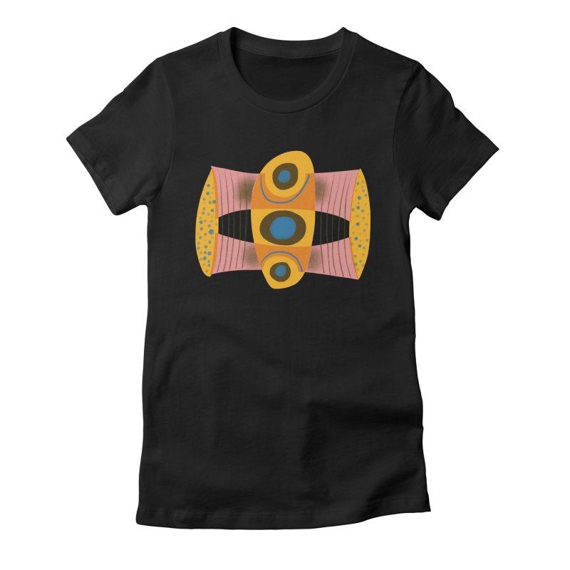 Bass Women's Fitted T-Shirt by Michael Pfleghaar