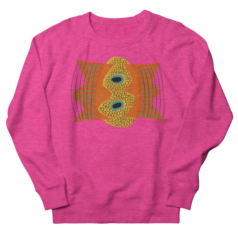 Flying Fish Women's French Terry Sweatshirt by Michael Pfleghaar