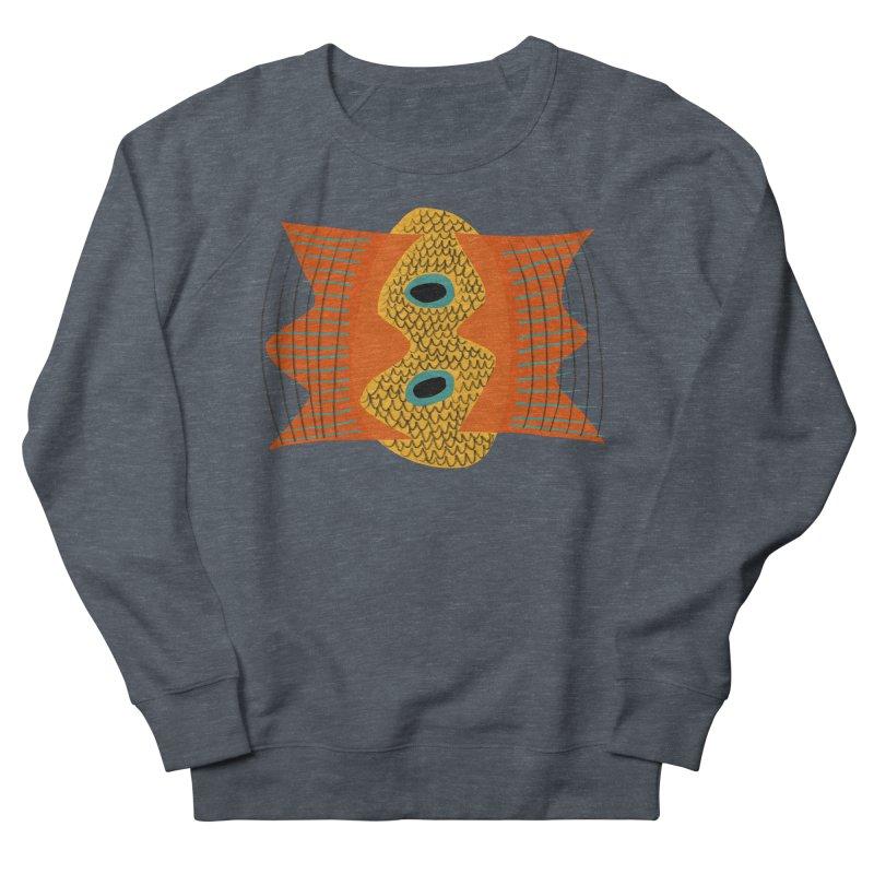 Flying Fish Men's French Terry Sweatshirt by Michael Pfleghaar