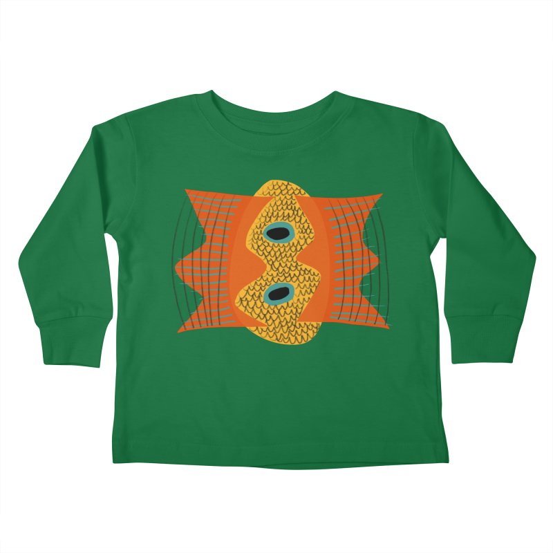 Flying Fish Kids Toddler Longsleeve T-Shirt by Michael Pfleghaar