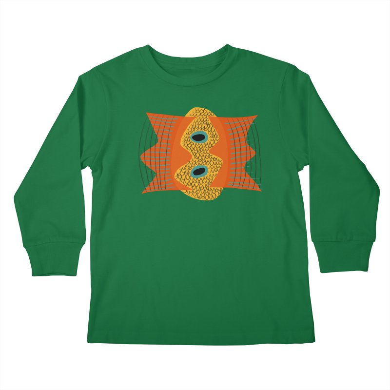 Flying Fish Kids Longsleeve T-Shirt by Michael Pfleghaar