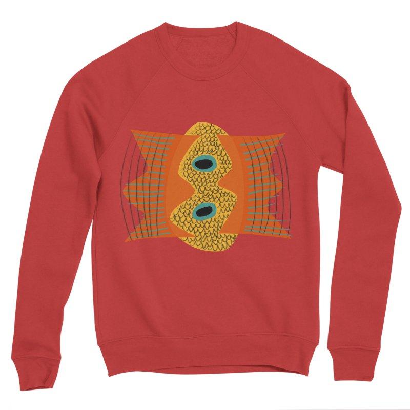 Flying Fish Men's Sponge Fleece Sweatshirt by Michael Pfleghaar
