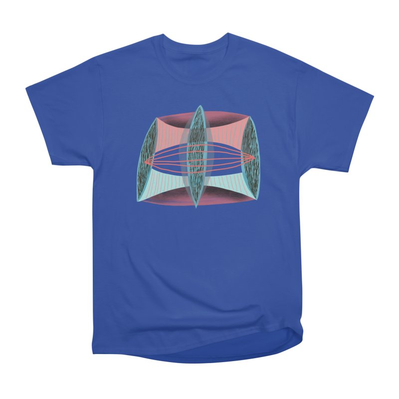 Trifecta Men's Heavyweight T-Shirt by Michael Pfleghaar