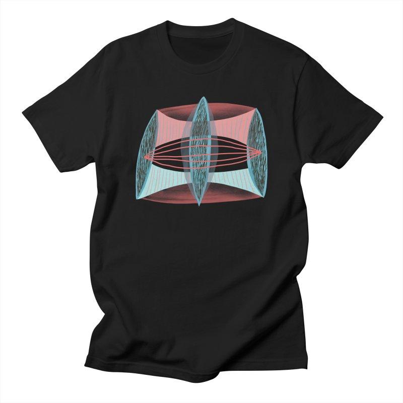 Trifecta Men's Regular T-Shirt by Michael Pfleghaar