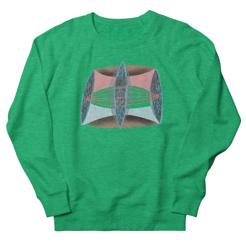 Trifecta Women's French Terry Sweatshirt by Michael Pfleghaar