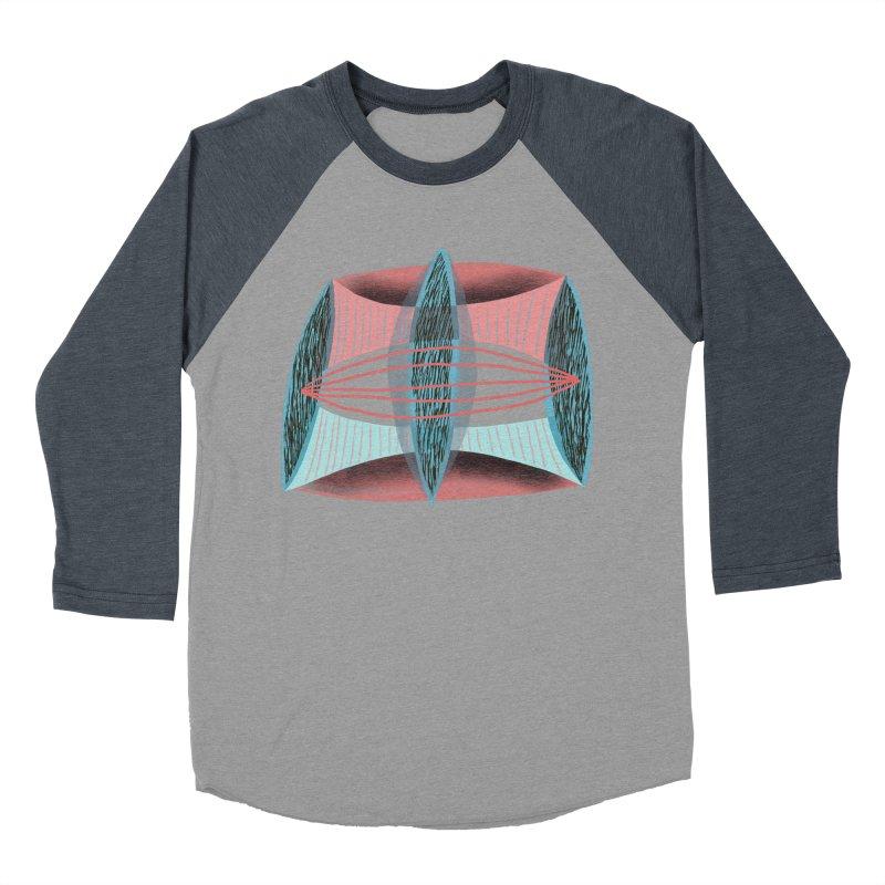 Trifecta Men's Baseball Triblend Longsleeve T-Shirt by Michael Pfleghaar