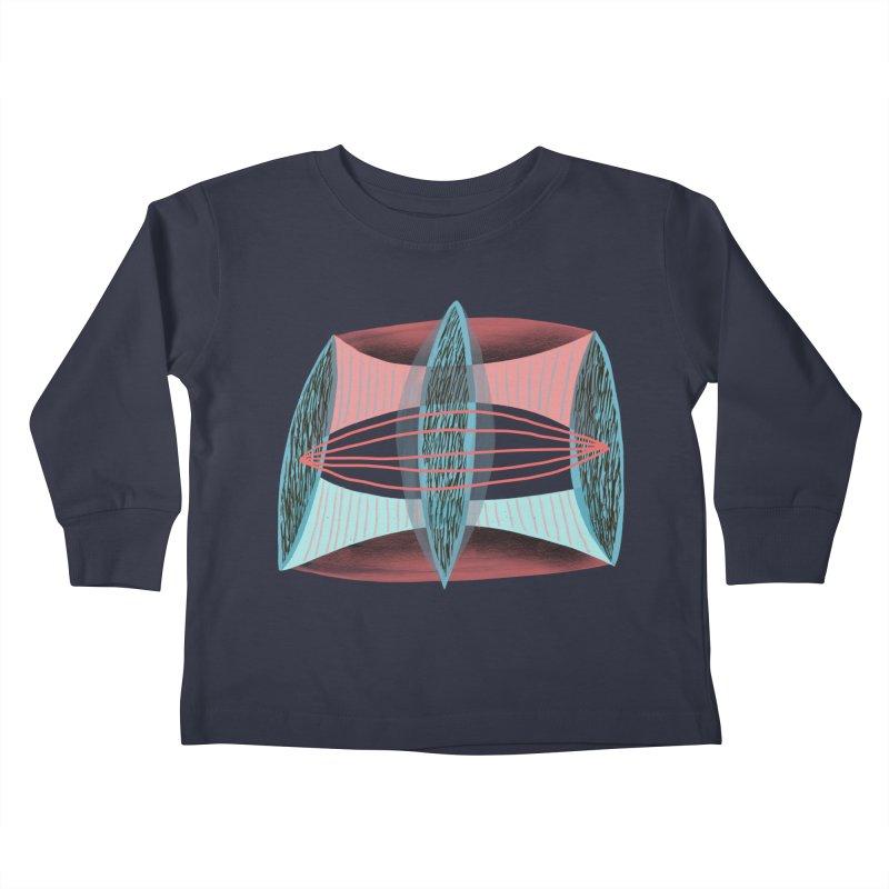 Trifecta Kids Toddler Longsleeve T-Shirt by Michael Pfleghaar
