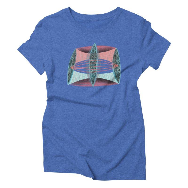 Trifecta Women's Triblend T-Shirt by Michael Pfleghaar