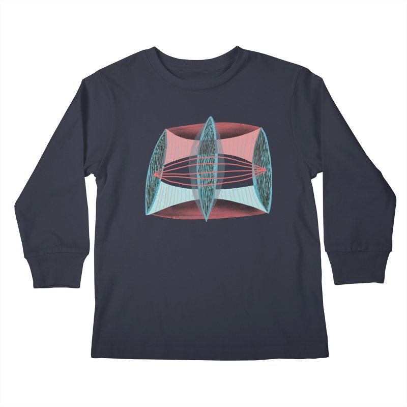Trifecta Kids Longsleeve T-Shirt by Michael Pfleghaar