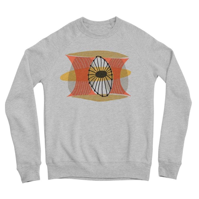 Wheel Men's Sponge Fleece Sweatshirt by Michael Pfleghaar