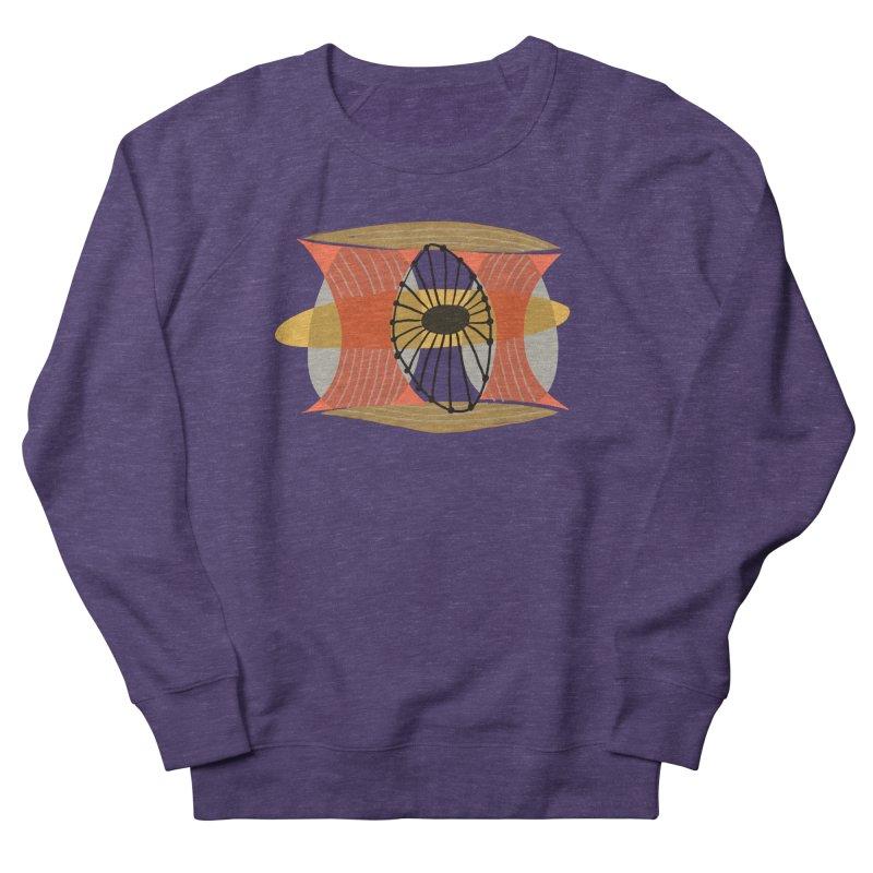 Wheel Women's French Terry Sweatshirt by Michael Pfleghaar