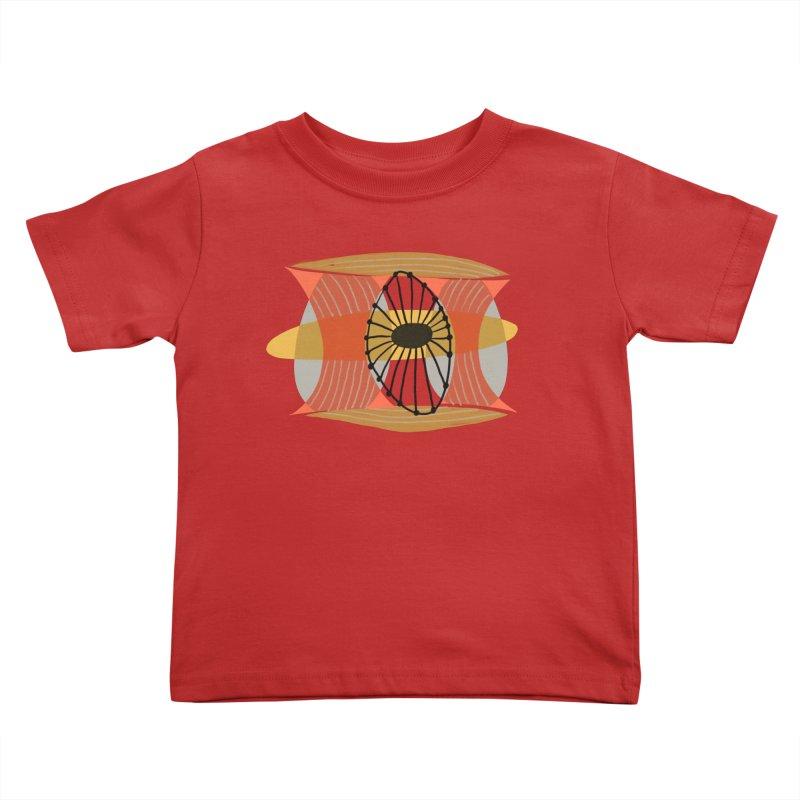 Wheel Kids Toddler T-Shirt by Michael Pfleghaar