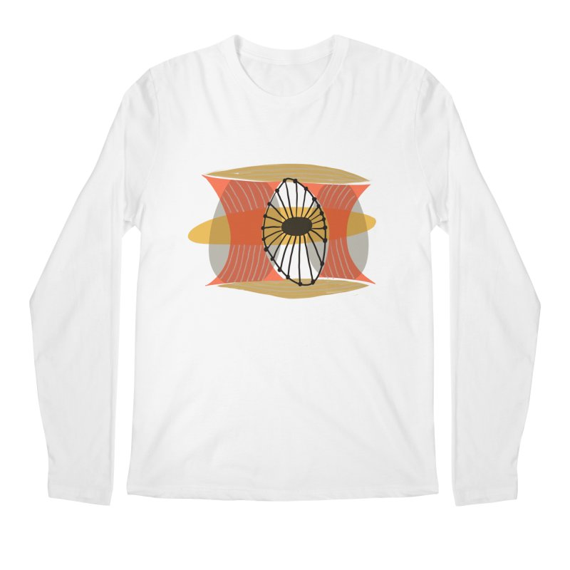 Wheel Men's Regular Longsleeve T-Shirt by Michael Pfleghaar