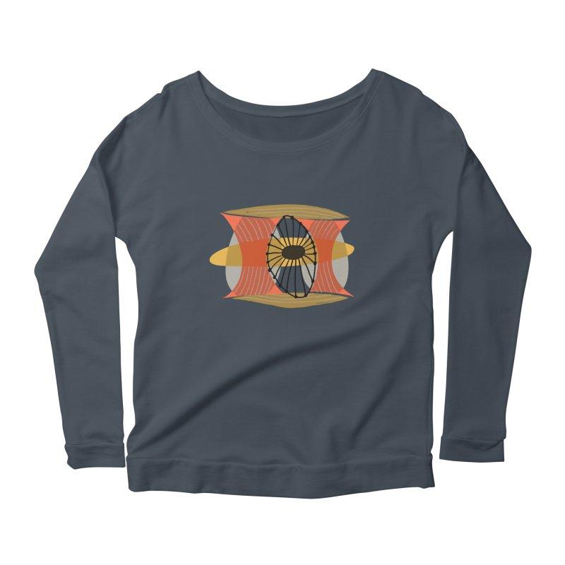 Wheel Women's Scoop Neck Longsleeve T-Shirt by Michael Pfleghaar