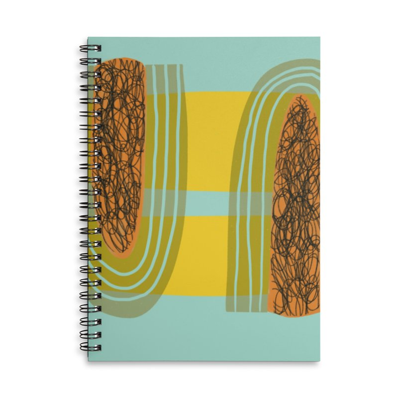 You Accessories Lined Spiral Notebook by Michael Pfleghaar