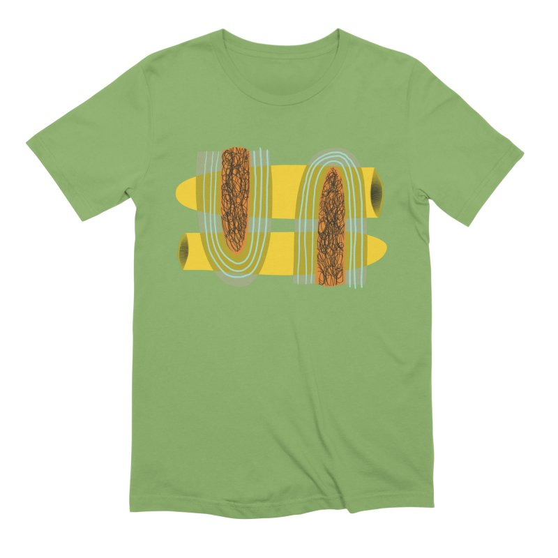 You in Men's Extra Soft T-Shirt Avocado by Michael Pfleghaar