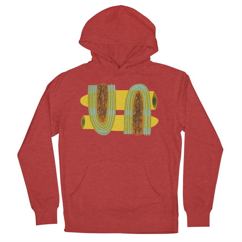 You Men's French Terry Pullover Hoody by Michael Pfleghaar