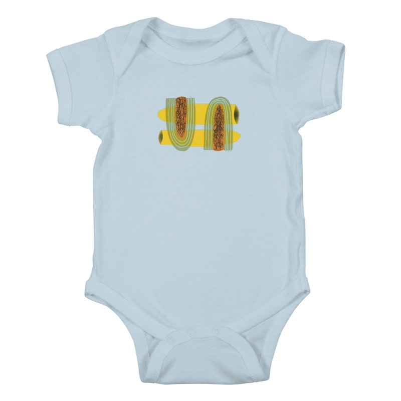 You Kids Baby Bodysuit by Michael Pfleghaar