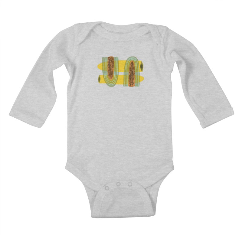 You Kids Baby Longsleeve Bodysuit by Michael Pfleghaar