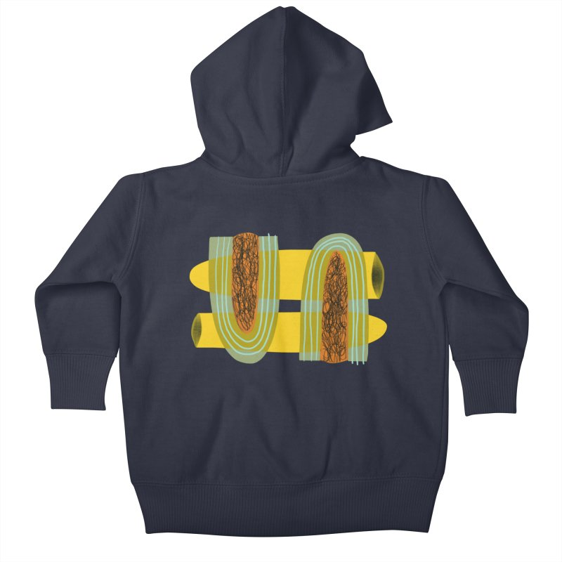You Kids Baby Zip-Up Hoody by Michael Pfleghaar