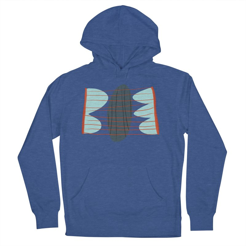 Hold Men's French Terry Pullover Hoody by Michael Pfleghaar