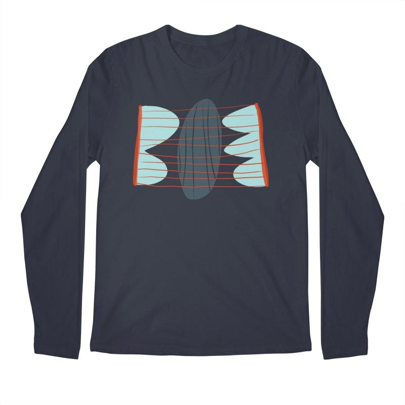 Hold Men's Regular Longsleeve T-Shirt by Michael Pfleghaar