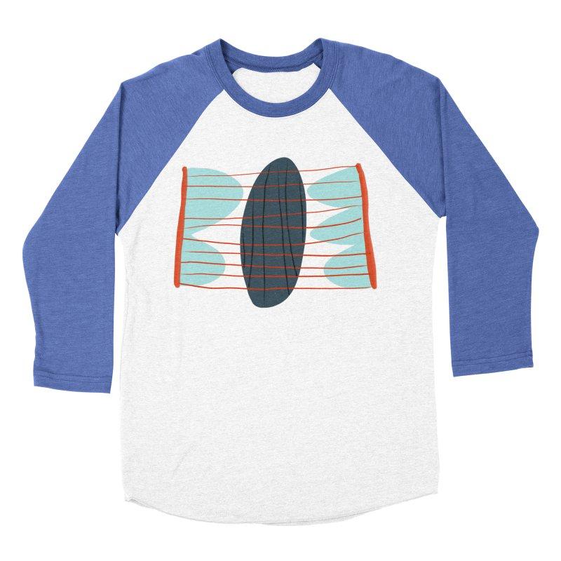 Hold Men's Baseball Triblend Longsleeve T-Shirt by Michael Pfleghaar