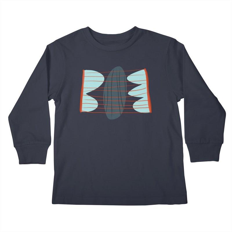Hold Kids Longsleeve T-Shirt by Michael Pfleghaar