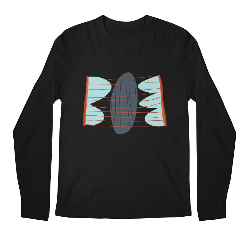 Hold Men's Regular Longsleeve T-Shirt by Michael Pfleghaar