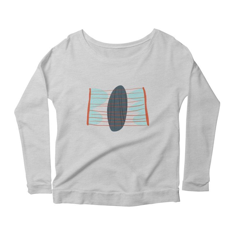 Hold Women's Scoop Neck Longsleeve T-Shirt by Michael Pfleghaar