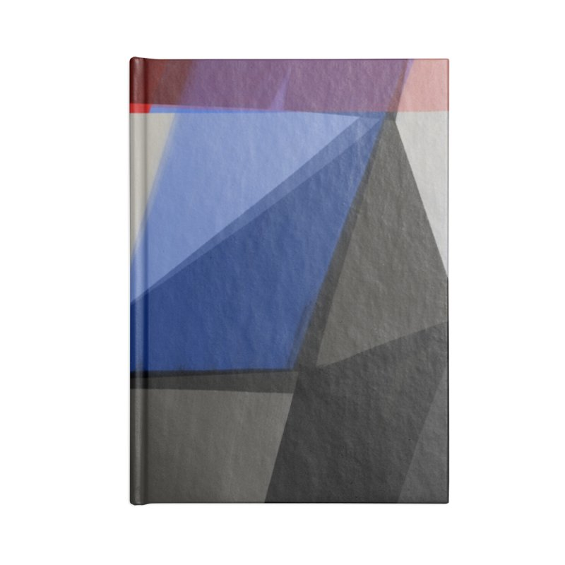Square Diamonds 1 Accessories Notebook by Michael Pfleghaar