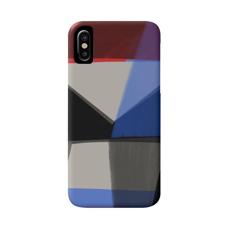 Square Diamonds 1 Accessories Phone Case by Michael Pfleghaar
