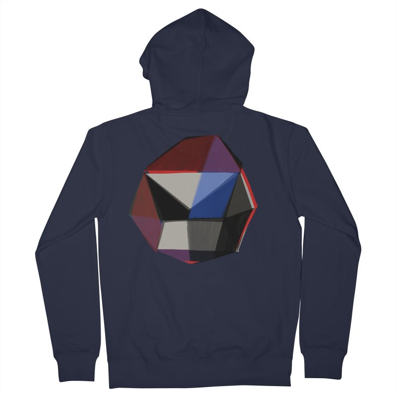 Square Diamonds 1 Women's Zip-Up Hoody by Michael Pfleghaar