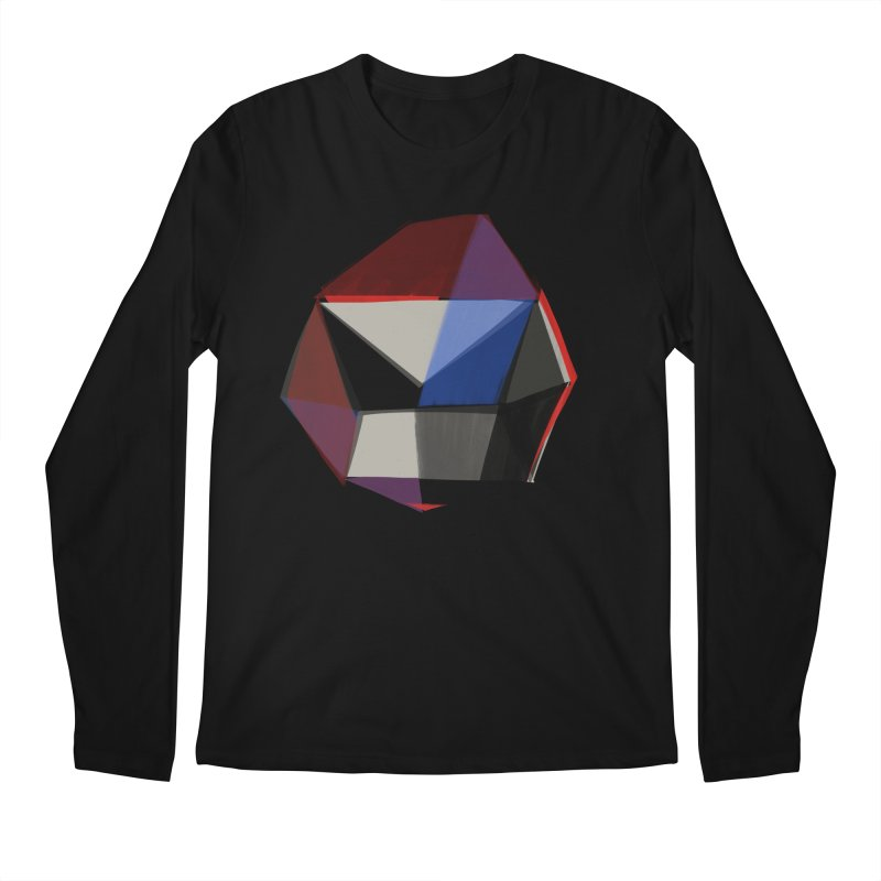 Square Diamonds 1 Men's Longsleeve T-Shirt by Michael Pfleghaar