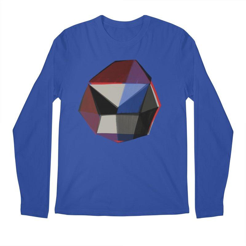 Square Diamonds 1 Men's Regular Longsleeve T-Shirt by Michael Pfleghaar