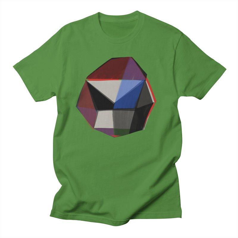 Square Diamonds 1 Men's Regular T-Shirt by Michael Pfleghaar