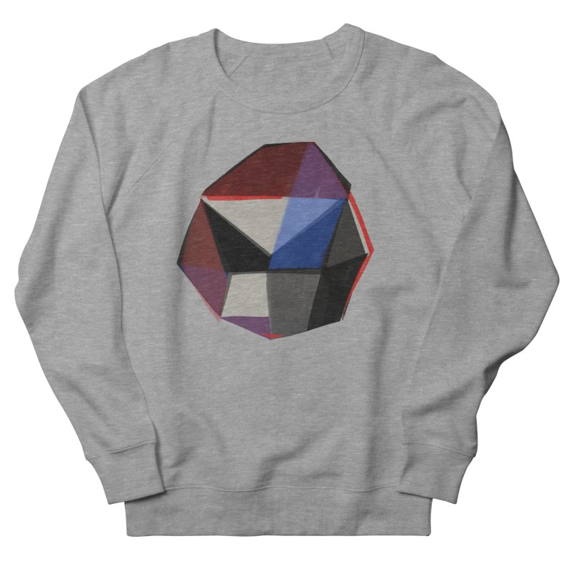 Square Diamonds 1 Women's French Terry Sweatshirt by Michael Pfleghaar