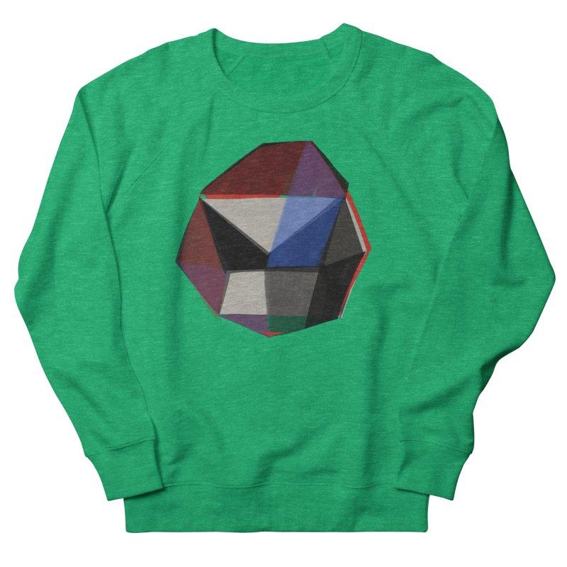 Square Diamonds 1 Men's French Terry Sweatshirt by Michael Pfleghaar