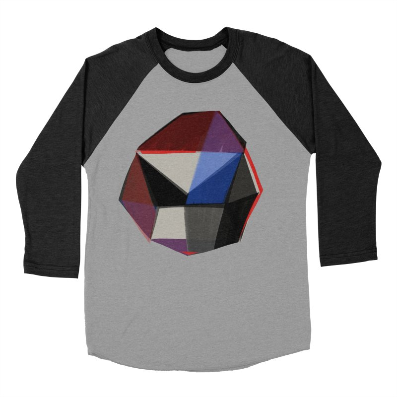 Square Diamonds 1 Women's Baseball Triblend T-Shirt by Michael Pfleghaar