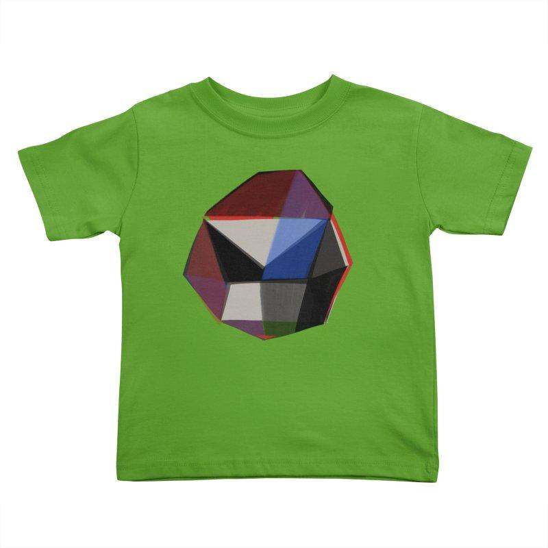 Square Diamonds 1 Kids Toddler T-Shirt by Michael Pfleghaar
