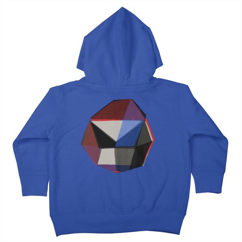 Square Diamonds 1 Kids Toddler Zip-Up Hoody by Michael Pfleghaar