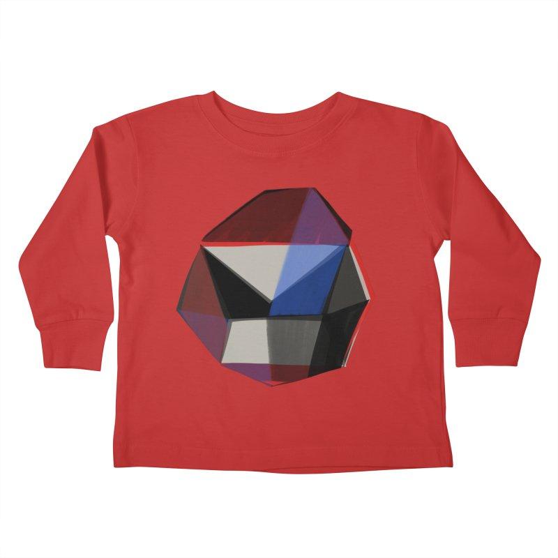 Square Diamonds 1 Kids Toddler Longsleeve T-Shirt by Michael Pfleghaar