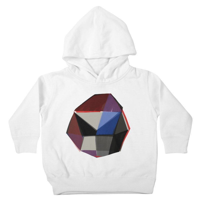 Square Diamonds 1 Kids Toddler Pullover Hoody by Michael Pfleghaar