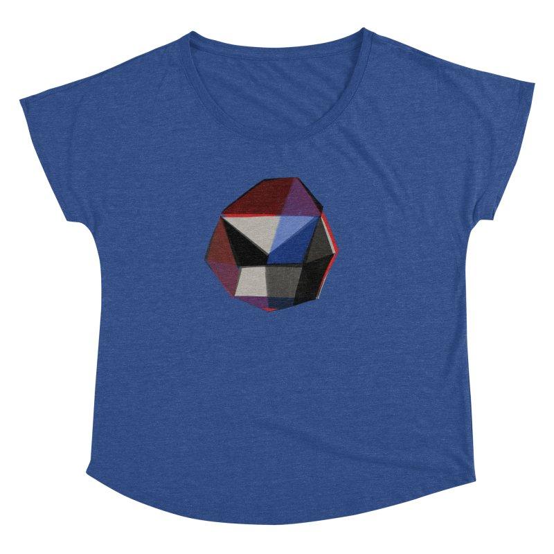 Square Diamonds 1 Women's Dolman by Michael Pfleghaar