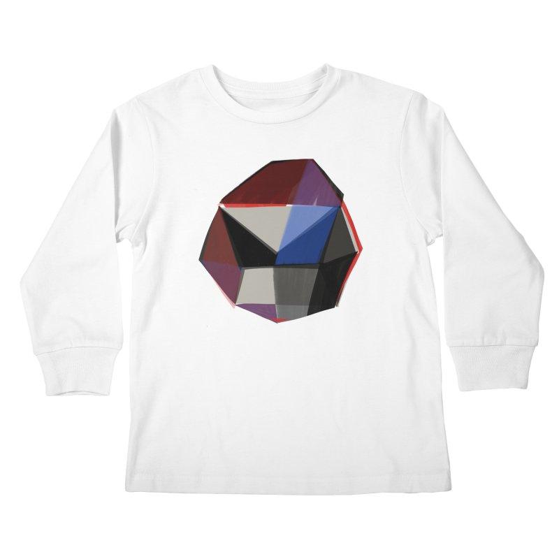 Square Diamonds 1 Kids Longsleeve T-Shirt by Michael Pfleghaar